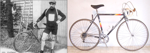 Bicycles 1911 and 1985