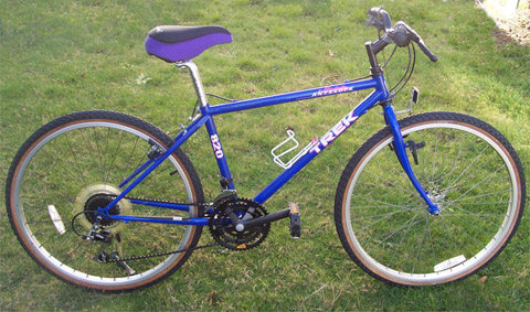 Early Trek mountain bike