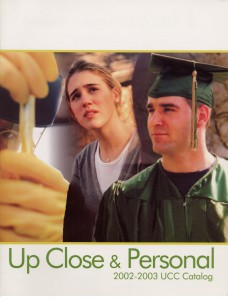 photo of UCC catalog cover 2002-2003