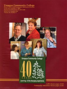 photo of Winter 2005 schedule cover